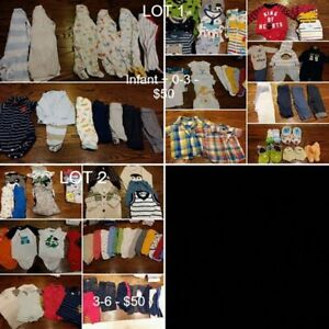 Baby Boy Clothes - Several lots - EXCELLENT Cond - All Seasons