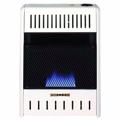 Procom Mnsd100hba Dual Propane Natural Gas Vent Free Blue Flame Heater 10 000Btu