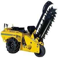 TRENCHERS AT READY TO RENT EQUIPMENT!