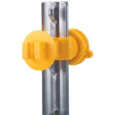 10 Pk Dare Western T-post Screw On Electric Fence Insulator 25pk 2193-25