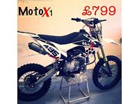 MotoX1 YX-160 160cc dirtbike Pitbike stomp demonX YX LIMITED ED