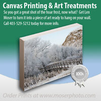 Where To Get Canvas Prints In Medicine Hat?