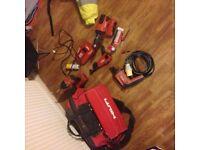 Hilti tools