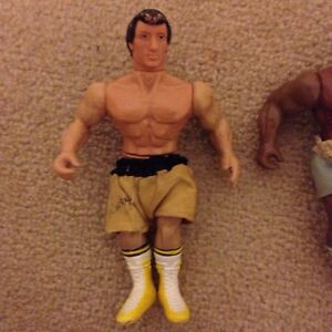 Vintage Rocky III - Rocky Balboa and Clubber Lang (Mr. T) Cambridge Kitchener Area image 3