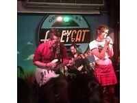 Garage Rock band seeking female vocalist.