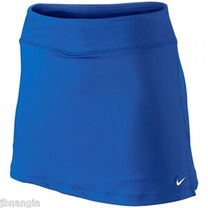 nike dri fit royal blue tennis fitness running power skirt