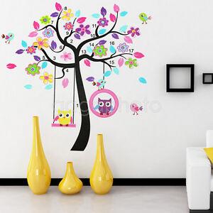 Nouveau sticker autocollant en pvc mural mur hibou for Decoration hibou