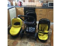 Red Kite 3in1 buggy for sale