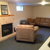 Beautiful, bright furnished one bedroom suite