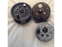 Salmon and sea trout reels