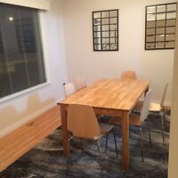 Furnished bedroom close to downtown, gay friendly