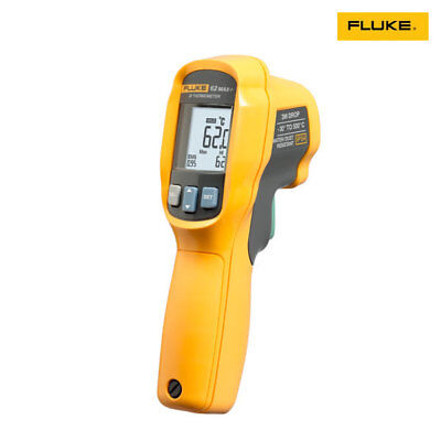 Fluke 62-max Plus Infrared Thermometer Thermal Temperature Reader -30c To 650c