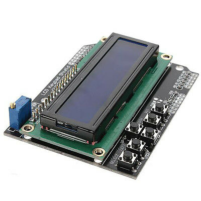 Keypad Shield Board Blue For Arduino Robot Lcd 1602 1280 2560 Ad