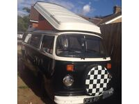 VW Type 2 bay window Campervan westfalia with awning / cover
