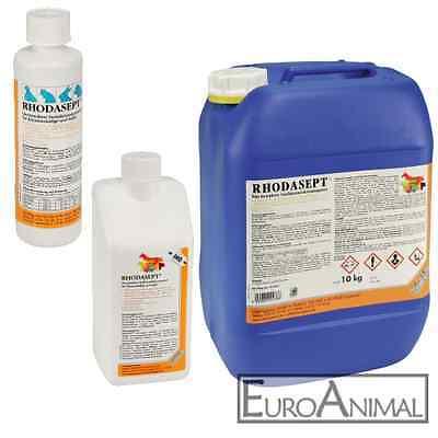 Desinfektionslösung Stall-Desinfektionsmittel Rhodasept Vogelgrippe Geflügelpest