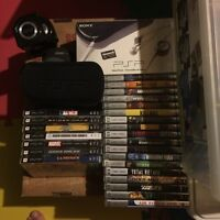 PSP Playstation Portable and Games/Movies