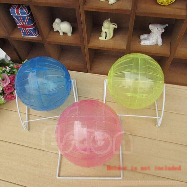 Pet Hamster Rodent Mice Jogging Gerbil Rat Play Small Plastic Toy Exercise Ball