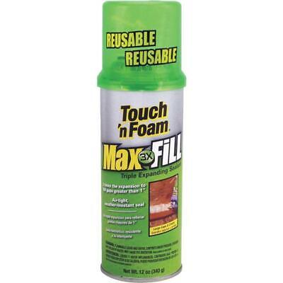 Touch N Foam Maxfill Triple Expanding Foam Sealant 12 Oz 4001031212