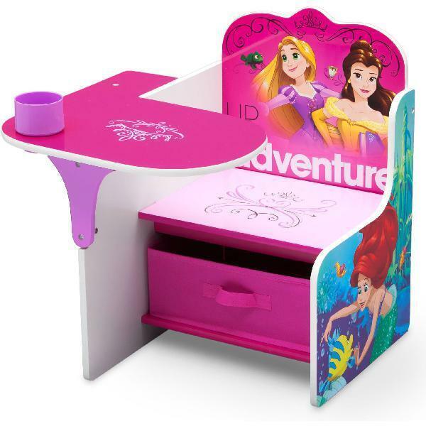 Disney Princess Chair Desk with Storage Bin by Delta Childre