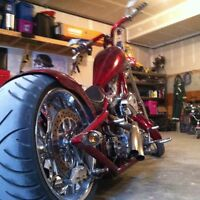 One of a Kind Full Custom Chopper