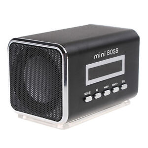 Mini-Speaker-Amplifier-digital-MP3-Player-Micro-SD-TF-Card-USB-Disk-FM-Black