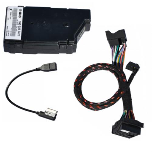 Multimediabuchse Media IN USB original VW 5N0035342F Radio Navi für Passat 3C B7
