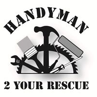 Handyman services; basement developments and repairs