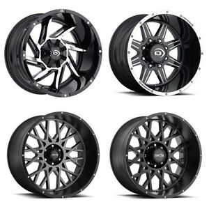 Vision Rims 20 x 12 -51 offset ON SALE now $1199!!!!!!