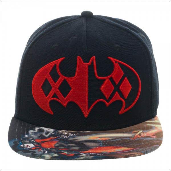 dc universe online baseball cap caps uk batman comics black red sublimated bill hat washington capitals