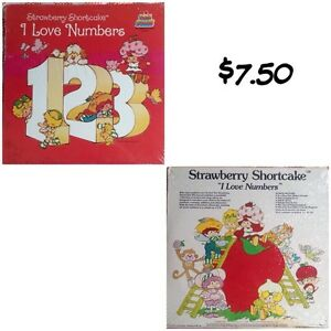 5 vintage Strawberry Shortcake record albums ($7.50 each)