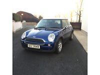 2003 Mini One *Full years MOT, 2 keys*