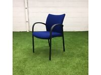 Royal Blue Stacking Chair 14 available