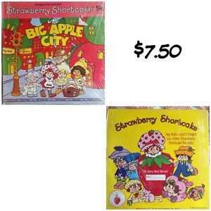 5 vintage Strawberry Shortcake record albums ($7.50 each) Kitchener / Waterloo Kitchener Area image 3