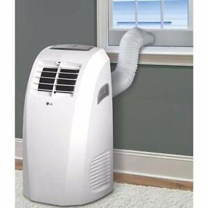 Climatiseur Portatif 10000 BTU LP1015WNR LG - Blanc - LG LP1015WNR 10 000 BTU Portable Air Conditioner - White