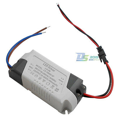 3-5x 3w High-power Constant Current Led Driver Supply Ac 90-260v To Dc 10-18v