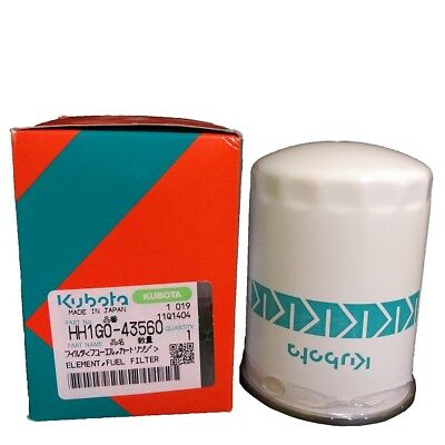 Kubota Fuel Filter Part Hh1g0-43560 For M5040 M5140 M6040 M7040 Tractors