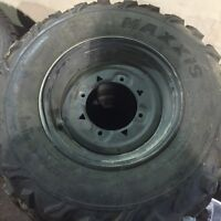 Polairs rims and tires
