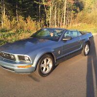 Mustang convertible 2007