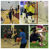 Mid Fall Coed Adult Sports Leagues