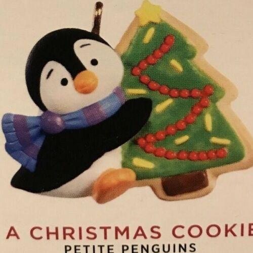 2020 Hallmark Miniature Ornament  Petite Penguins - A Christmas Cookie-