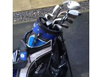 Full collection of Male Matching Golf Clubs & Bag Bargain at just £60 14 Clubs Driver Putter Set