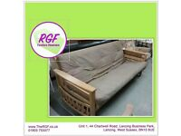 SALE NOW ON!! Large Futon / Sofa Bed - Can Deliver For £19