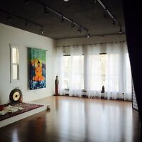 Yoga Studio Space for Rent
