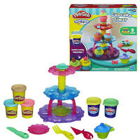 Play-Doh Cupcake Tower With Real-Looking Frosting Brand New