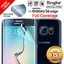 RINGKE Full Coverage Clear Screen Protector for Galaxy S6