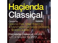 4 tickets to see Hacienda Classical Live at First Direct Arena Leeds