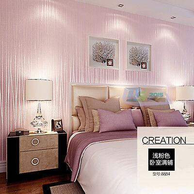 10m 57sf rosa romantisch tapete vliestapete schlafzimmer tv wand ... - Rosa Tapeten Schlafzimmer