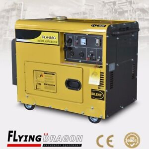 open/silent type  air cooled 10kw portable diesel generator