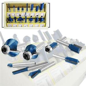 15pc Router Bit Set 1/4
