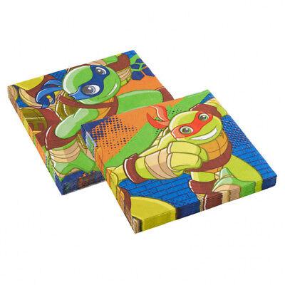 Kindergeburtstag Baby Ninja Turtles Party Servietten Heroes Jungen Tisch Deko